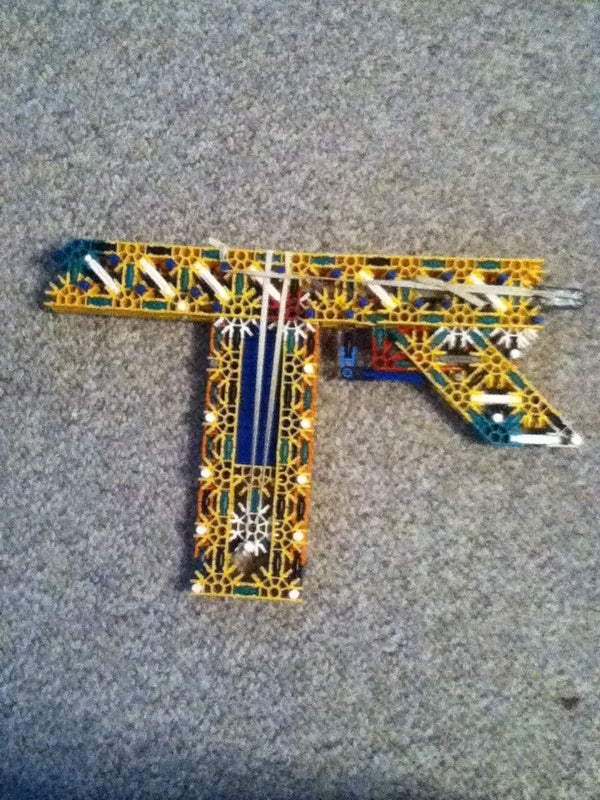 Knex War Pistol (Build)