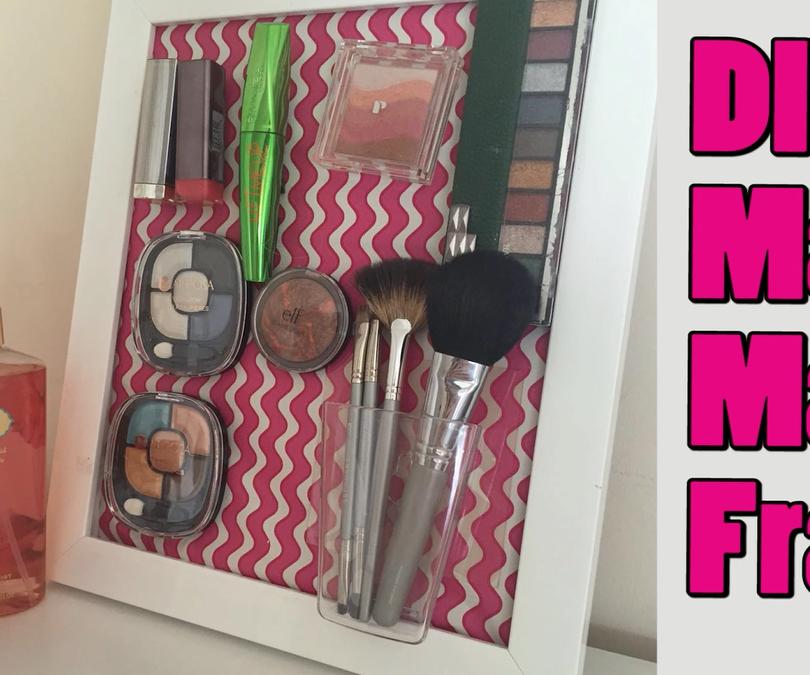 Pinterest Inspired - DIY Makeup Board Tutorial