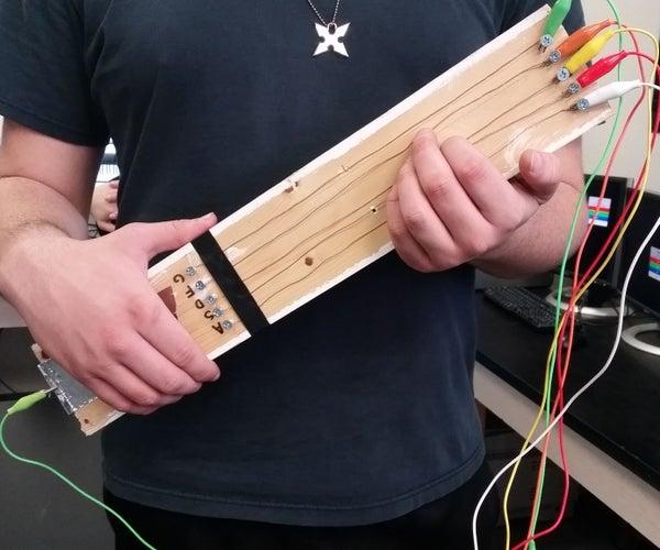 Guitar Hero: Guitar W/ Strings (MaKey MaKey)