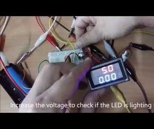 Adjustable DC to DC Step Up Voltage Booster Using LM2577 +Adj