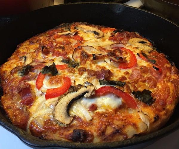 Cast Iron Skillet Pizza
