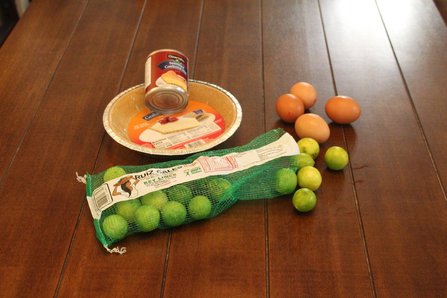 4 Ingredient Key Lime Pie