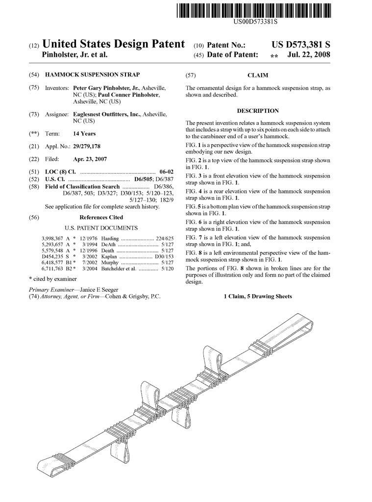 Hammock Suspension Strap