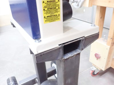 Clean Up Spatter and Mount Bandsaw