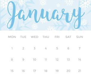 Create A Printable Calendar On Illustrator