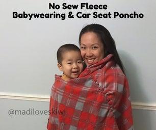 No Sew Babywearing Poncho & Car Seat Blanket