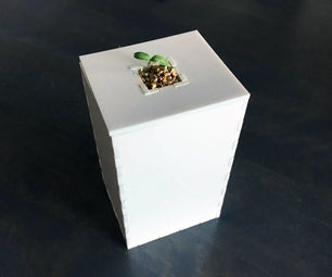 How to Lasercut a Simple Hydroponic Vase for Growing Tomatoes!