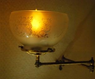 LED-based Faux Gas Lamp