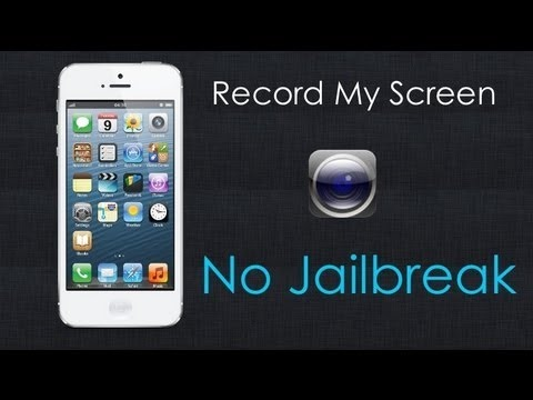 Screen Record On iPhone Without Jailbrake