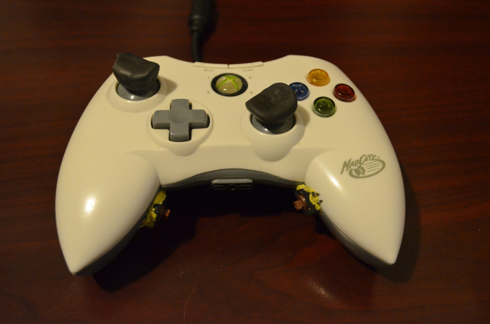 Game Controller Button Location Mod