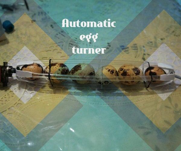 Automatic Egg Turner (Strawbees)