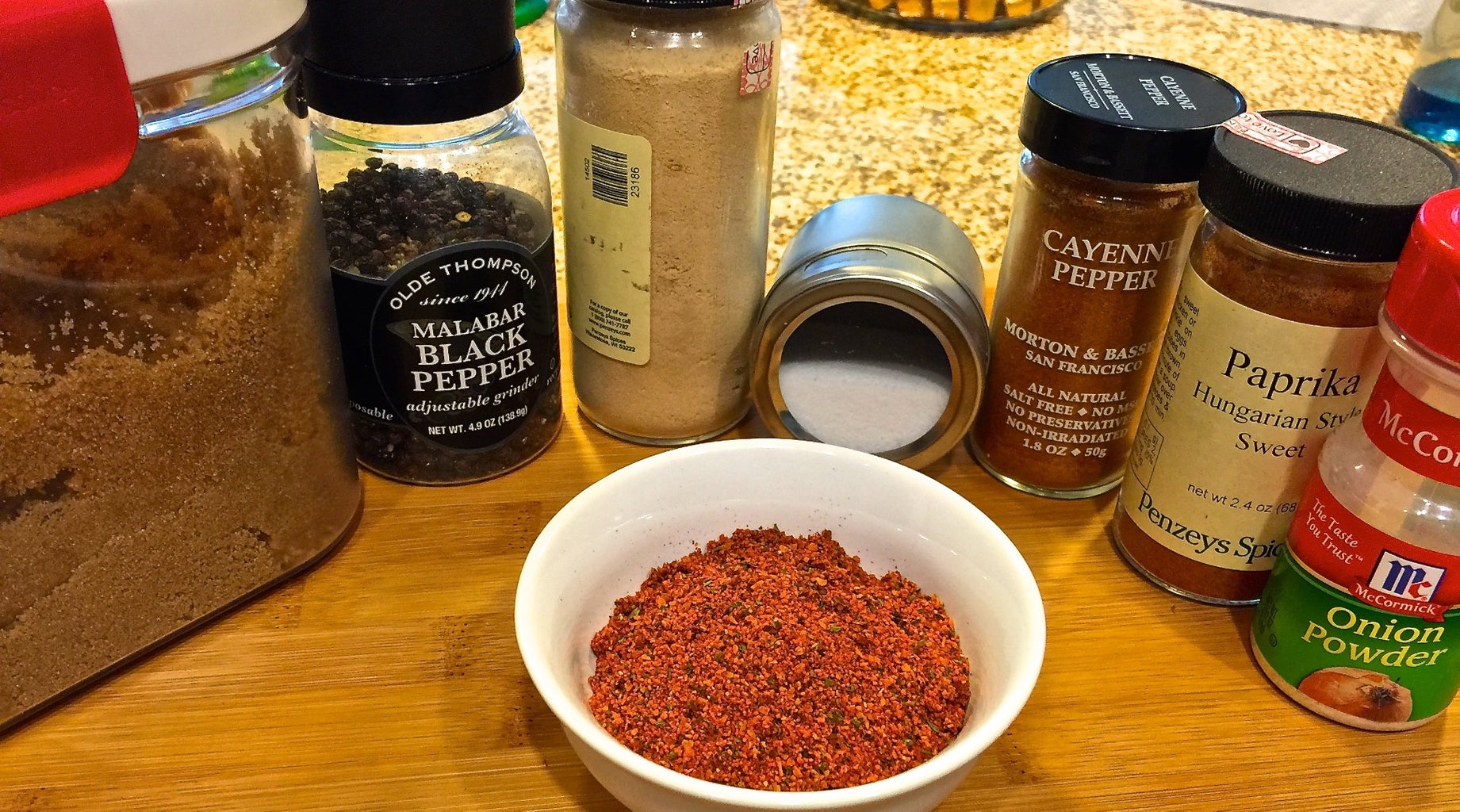 Homemade Spice Rub for Ribs, Pork, and Chicken