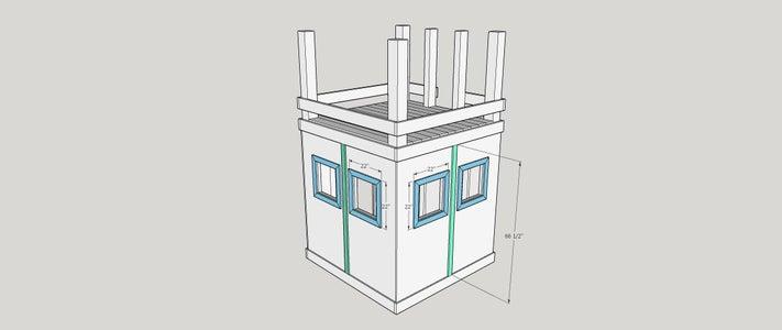 Step 13:  Window Side Trim