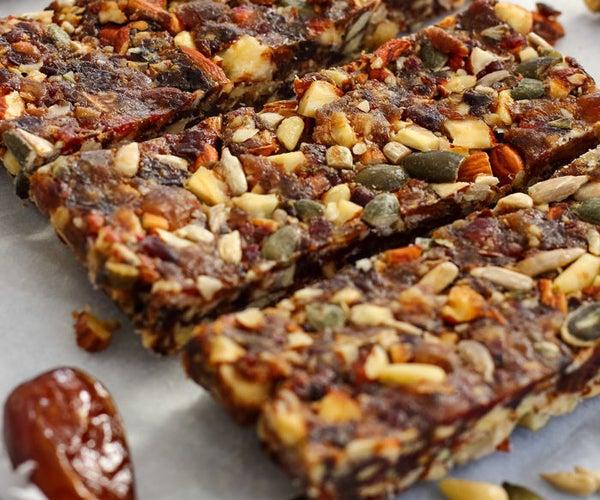 Gluten Free No Bake Energy Bars