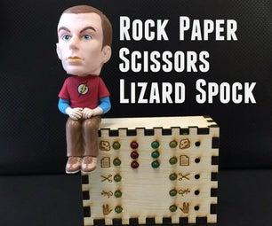 Rock Paper Scissors Lizard Spock Desk Toy