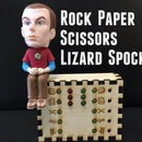 Rock Paper Scissors Lizard Spock Desk Toy