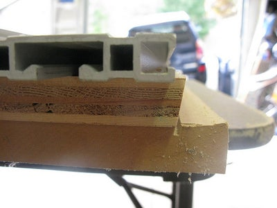 Cutting the Top and Bottom Bevels