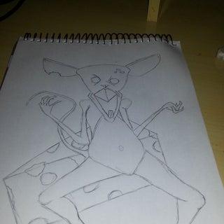 How to Draw Zombie Mice...
