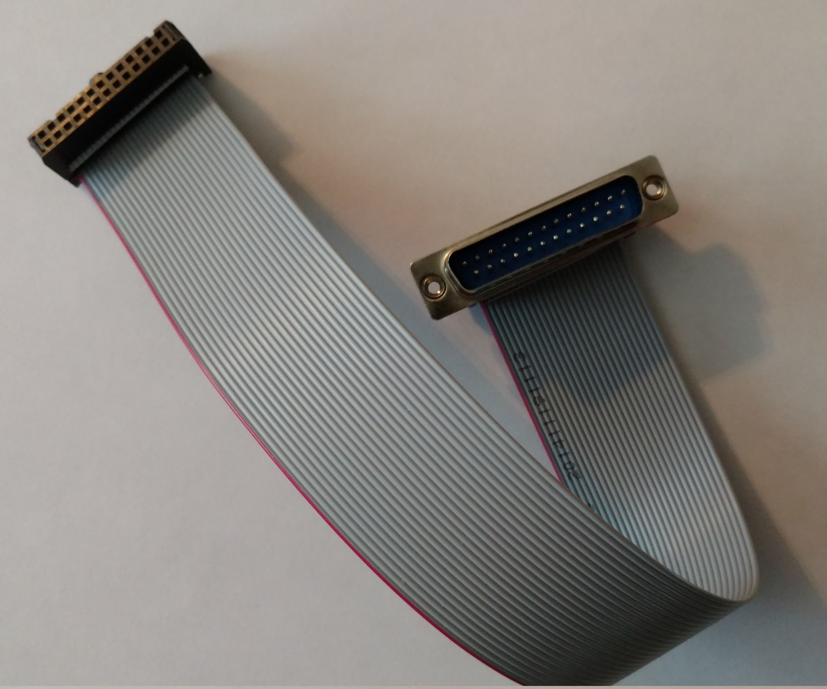 DIY IDC26 Female to DB25 Male Ribbon Cable