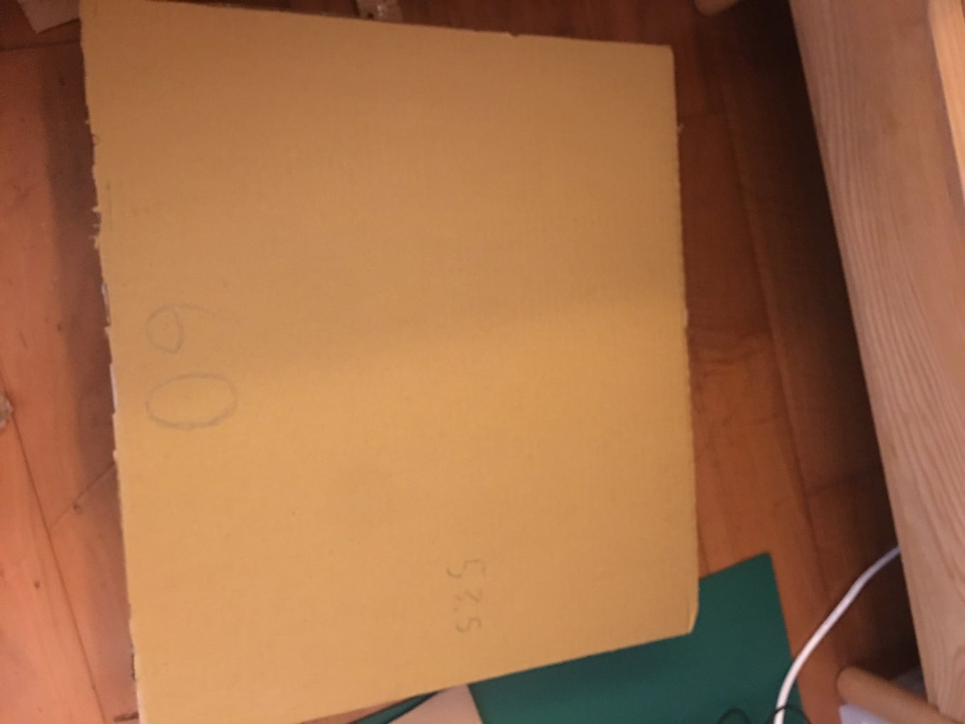 Making the Outline of the Display Stand