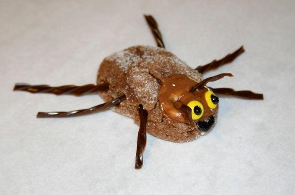 Chocolate Caramel Cockroach Cookie