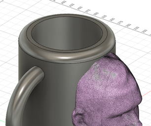 3D Printed Mug With Your Own Face