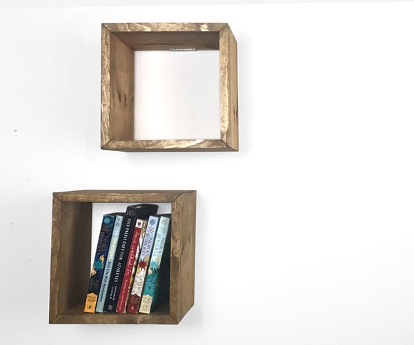 Floating Box Shelves (From One 1 X 8)