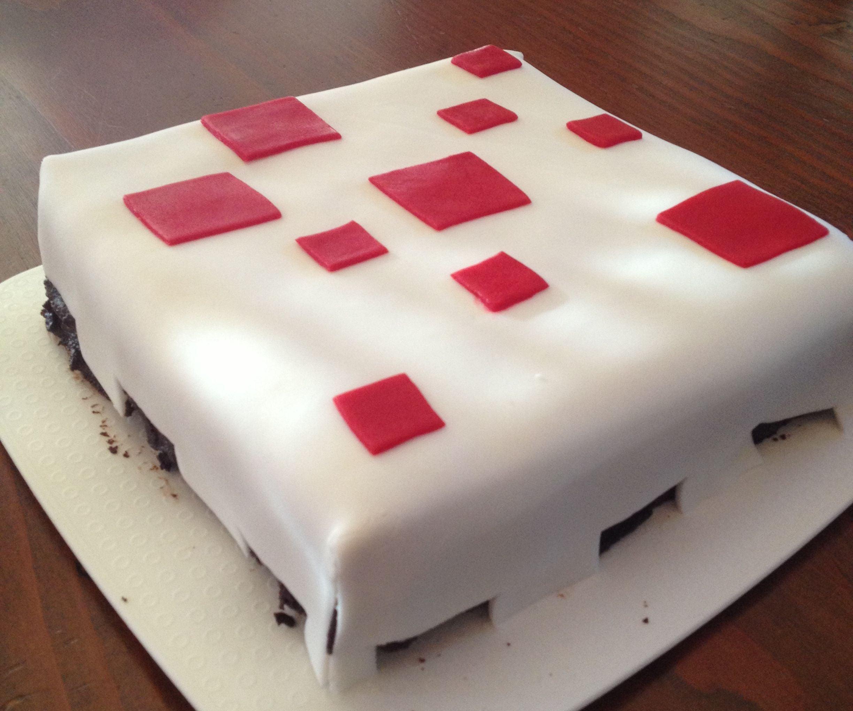 Minecraft Cake Cake 5 Steps Instructables
