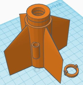 Making a Reusable Rocket Fin Can for a BT 50 Body Tube