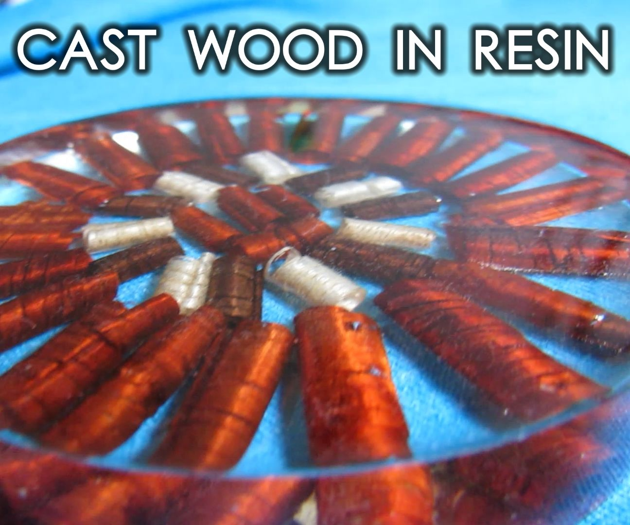 How to Cast Wood in Resin