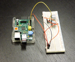 Ultrasound Sensor With Raspberry Pi