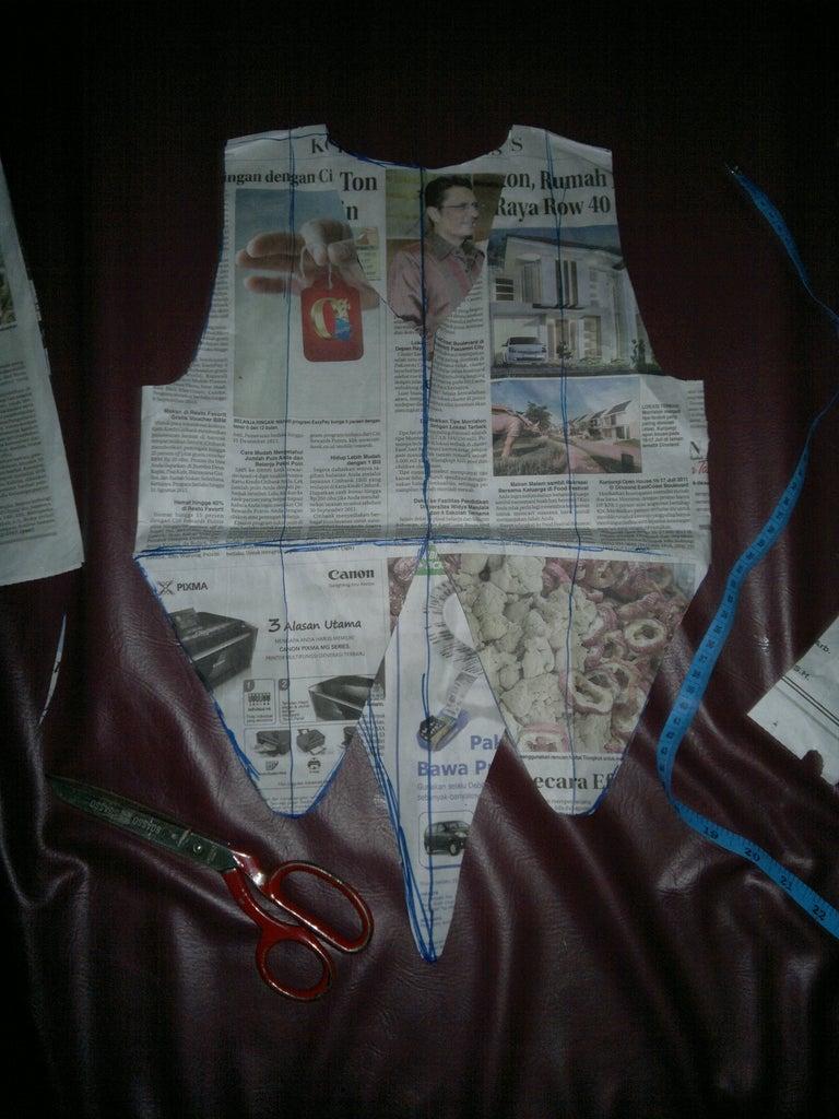 Paper Pattern (vest)