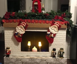 Make a Realistic Fireplace From Cardboard
