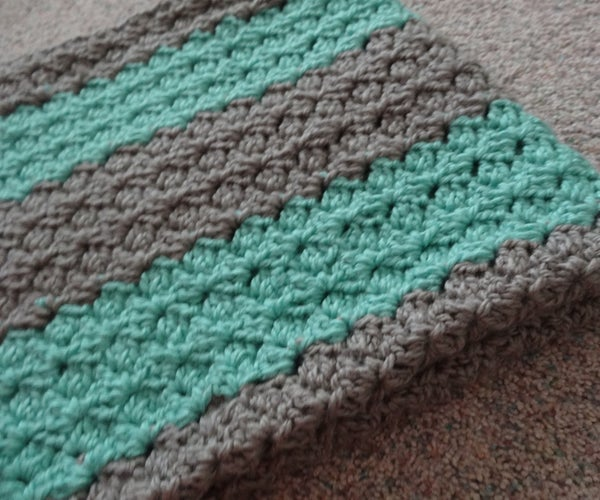 Crochet Dutchess Lace Blanket