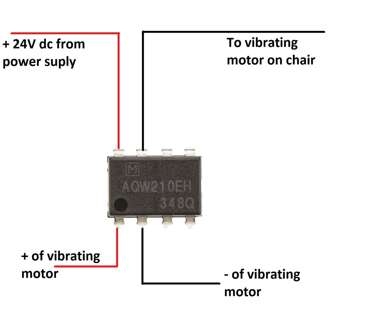 Solder the Solid State Relay