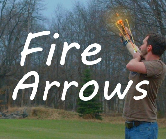 How To Make Auto-Igniting Fire Arrows