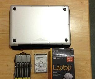 更换MacBook Pro中的硬盘
