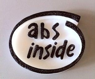 ABS / PLA Inside!