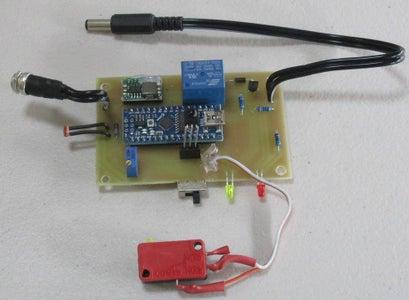 Base Unit (to Switch a 12v LED Panel)