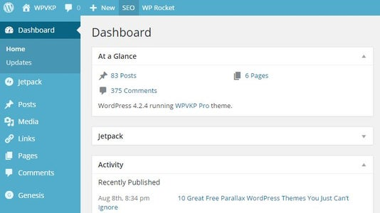 Step 1: Login to Your WordPress Administration Panel