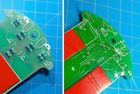 Line Following Robot - Resistors