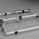 Jumbo CNC Laser Cutter/Etcher Designed With Autodesk Fusion 360
