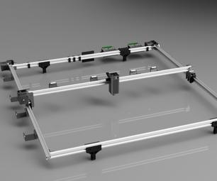 Jumbo CNC激光切割机/蚀刻器设计与Autodesk Fusion 360188bet比分