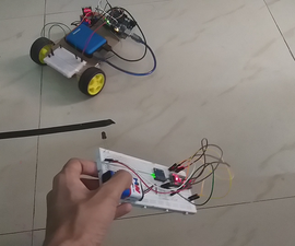 Motion Controlled IR RC Car