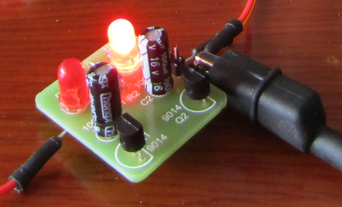 Step Two: Solder the Electrolytic Capacitors Into the PCB