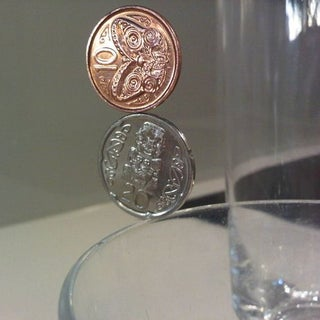 AMAZING GRAVITY-DEFYING COIN TRICK!