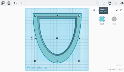 Make a Hole in the Main Shape