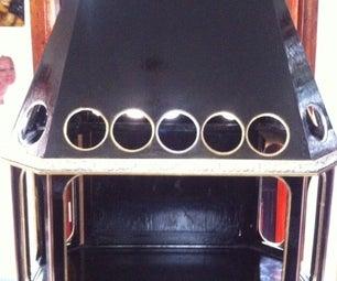 Steampunk/Gothic Display Cabinet