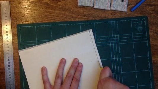 Cutting the PVC Foam Board to Size