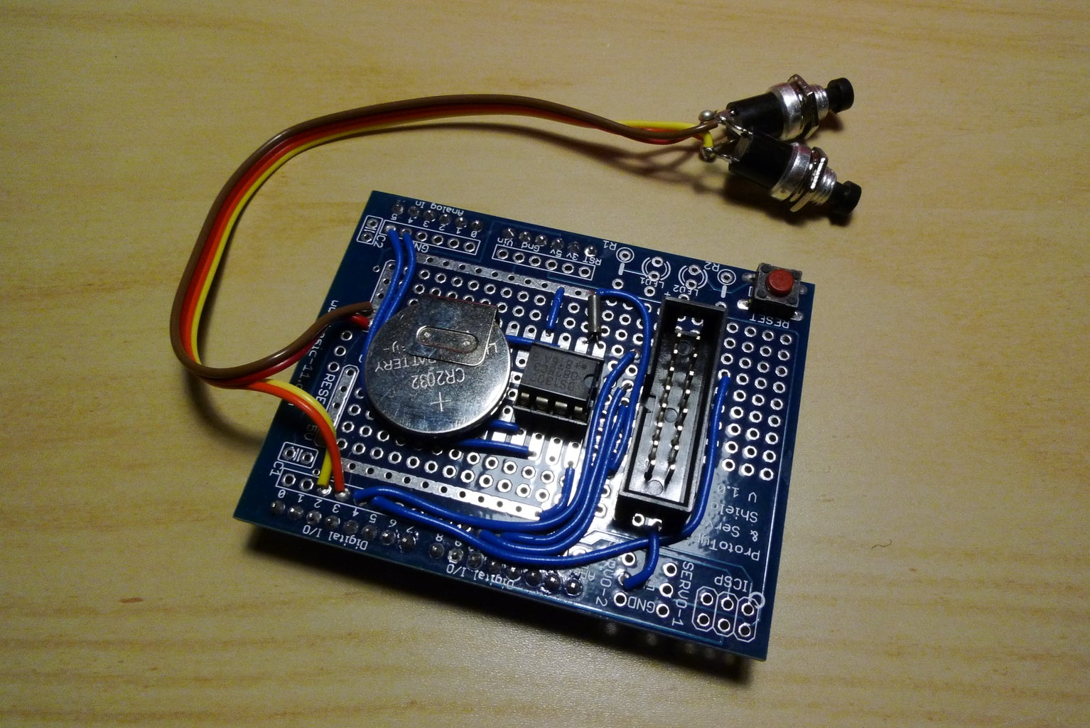 About the Prototyping Board
